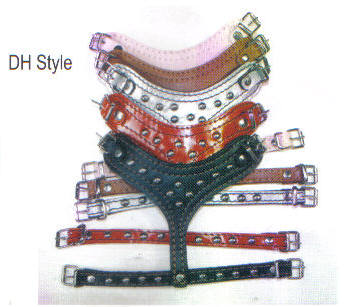 Studded Leather Dog Harnesses By Top Dog