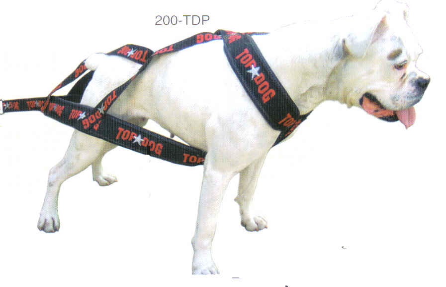 Dog Weight Pulling Harnesses By Top Dog